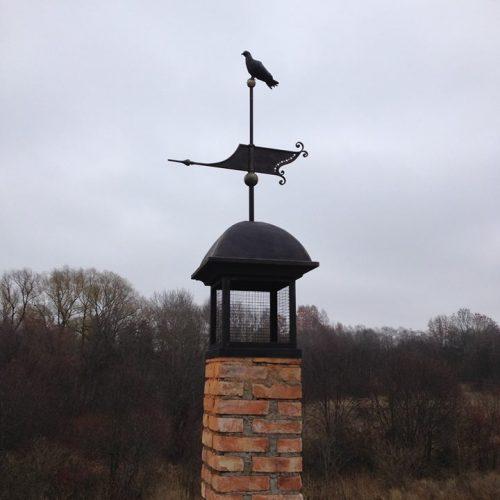 kamino stogelis kalvio darbai